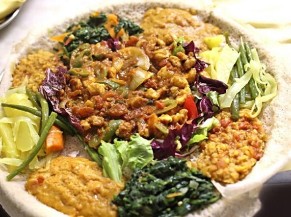 Eritrea cucina africana ben eseguita a ostiense for Cibi tipici di roma