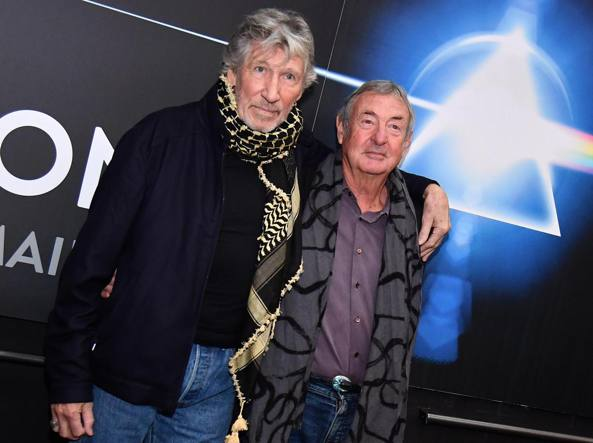 Roger Waters e Nick Mason