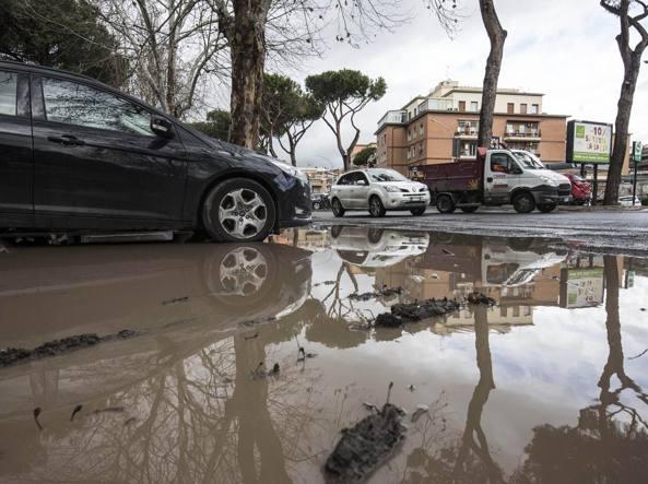 Roma, oltre 250mila a rischio alluvione