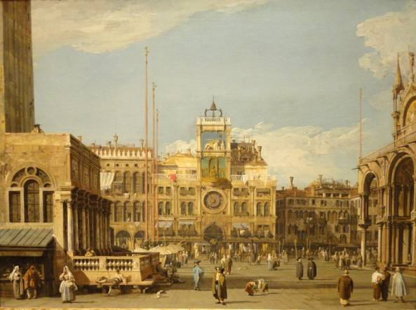 Canaletto, Piazza San Marco», The Nelson-Atkins Museum of Art, Kansas City