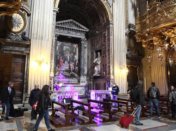 Furto in Chiesa Nuova, ritrovato quadro