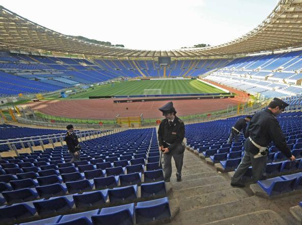 Derby di Roma: emesse due sentenze di Daspo per due tifosi