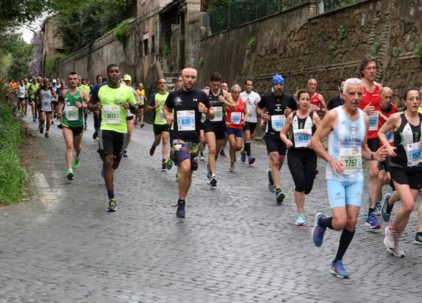Appia Run, record di partecipanti: al via in oltre 7.600. Vince Iaktri