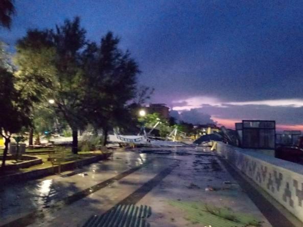 METEO DOMANI, ancora temporali e nubifragi. Peggiora al Nord
