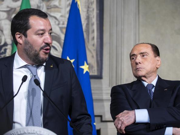 Vertice Salvini - Berlusconi, intesa su regionali e Rai