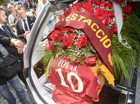 Funerali Maria Sensi, Ferrero: