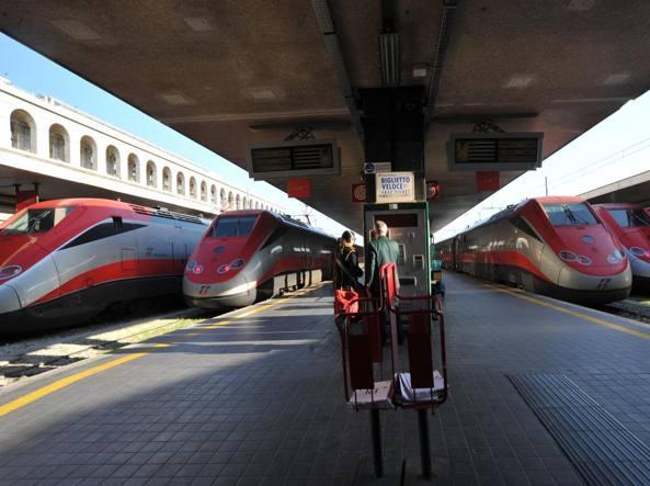 Torino, parte il primo Frecciarossa per il Salento