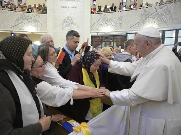 Papa Francesco ha chiesto perdono ai rom
