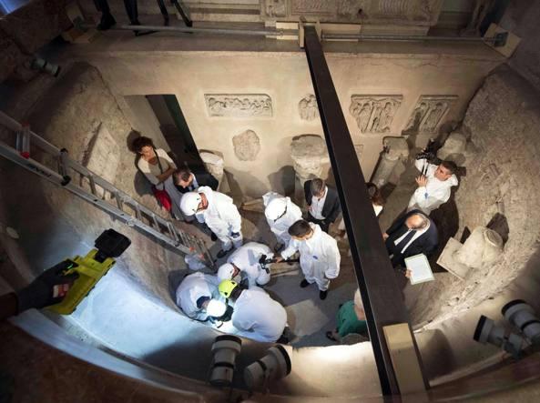 Orlandi, nel Cimitero Teutonico di Roma