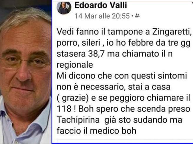 Morti Edoardo Valli e Francesco Cortesi, medici romani malati di coronavirus
