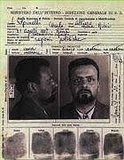 Il documento identificativo del confinato Spinelli