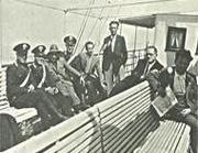 Confinati scortati sulla nave per Ventotene