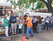 La protesta dei residenti per il verde a via Sannio