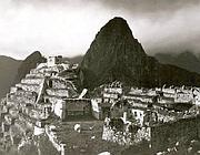 Perù il Machu Picchu fotografata da Hiram Bingham nel 1912