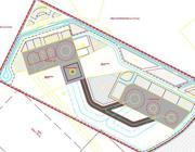 Il progetto dell'eliporto di Frosinone  (dal sito AdF)