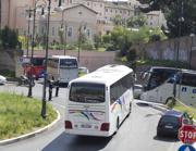Bus turistici al Gianicolo