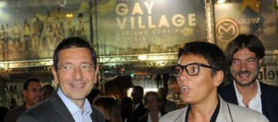 Marino al gay Village con Imma Battaglia, il 13 settembre