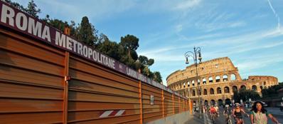 Cantieri della Metro C al Colosseo: forse dovranno chiudere