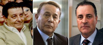 Pasquale Lombardi, Flavio Carboni e Arcangelo Martino