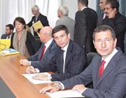 Il sindaco Marino con il ministro Lupi (Jpeg)
