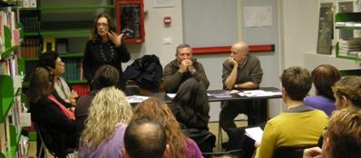 Una riunione dei «maestri di strada» (dal blog omonimo)