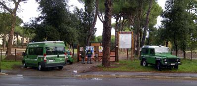 La Forestale a Tor Marancia (Proto)