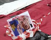 La foto insanguinata del presidente Napolitano (Jpeg)