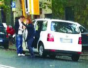 Un incontro ai Parioli intercettato dai carabinieri
