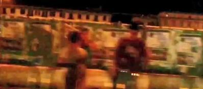 Prostituzione, immagini da un video degli inquirenti