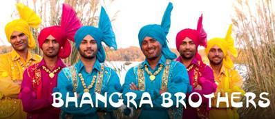 Una locandina dei Bhangra Brothers a Pontinia