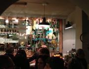 Il banco bar di «Litro»