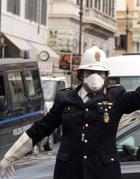 Mascherine anti smog per i vigili