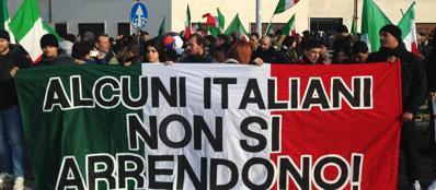 La protesta del «Movimento dei forconi» a Roma (Jpeg)