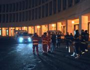 Volontari della Croce Rossa all'Eur (D'Oro)