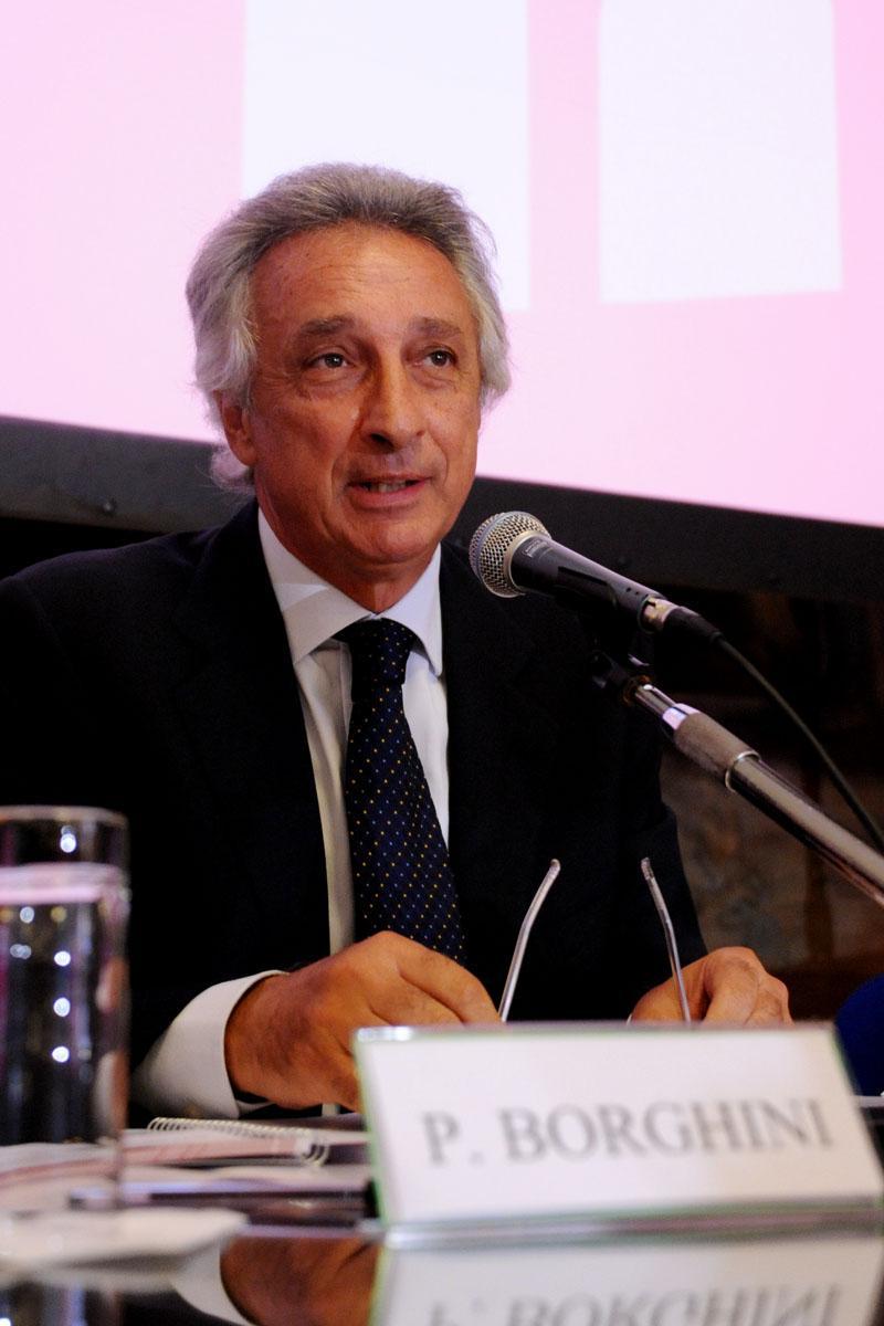 Il presidente di Eur Spa Pierluigi Borghini