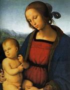 Madonna con bambino del Perugino