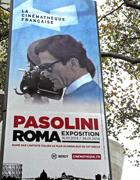 Un manifesto della mostra parigina