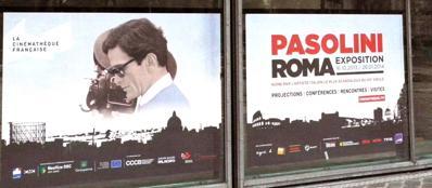 Le locandine della mostra che da Parigi arriverà a Roma