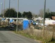 Il campo rom de La Barbuta, a Roma (Proto)