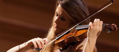 Franesca Dego, 24 anni, un talento  al violino