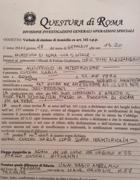 L'elezione di domicilio notificata a Ilaria Cucchi