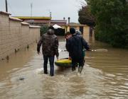 Soccorsi con canoe a Bagnoletto (Costantini)