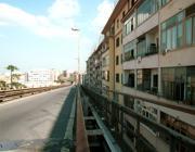 La vecchia Tangenziale Est in zona San Giovanni