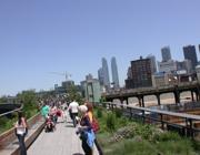 La high line nel Meatpack District di NYC (Zanini)