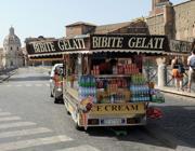 Camion bar ai Fori Imperiali (foto Jpeg)