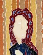 «Lei», opera di Visalli già esposta al Chiostro del Bramante a Roma