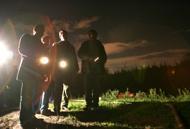 Ronde  di cittadini a Ponte  di Nona «vigiliamo sul pericolo del campo rom»