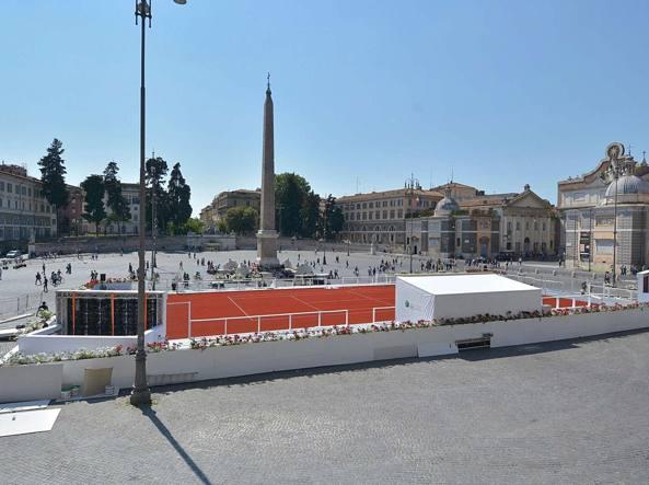 Campi Da Tennis Roma.Campo Da Tennis In Piazza Del Popolo Il Codacons Uno Scempio