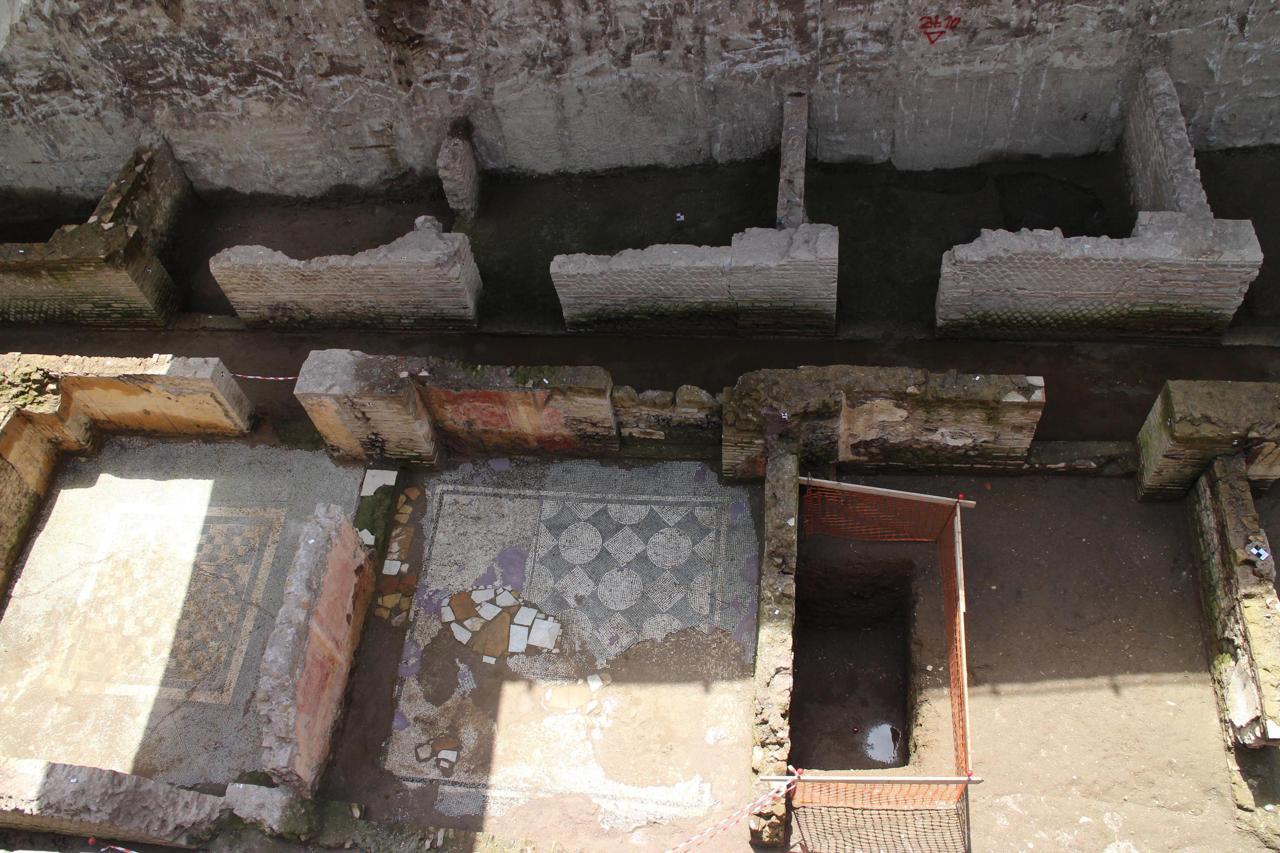 Amba Aradam, caserma romana ritrovata scavando per la metro C ...