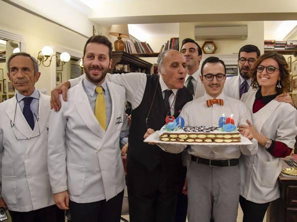 Il barbiere dei politici compie 80 anni Scalfaro e gli ...